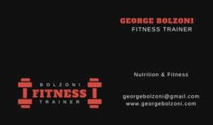 George Bolzoni Fitness Training