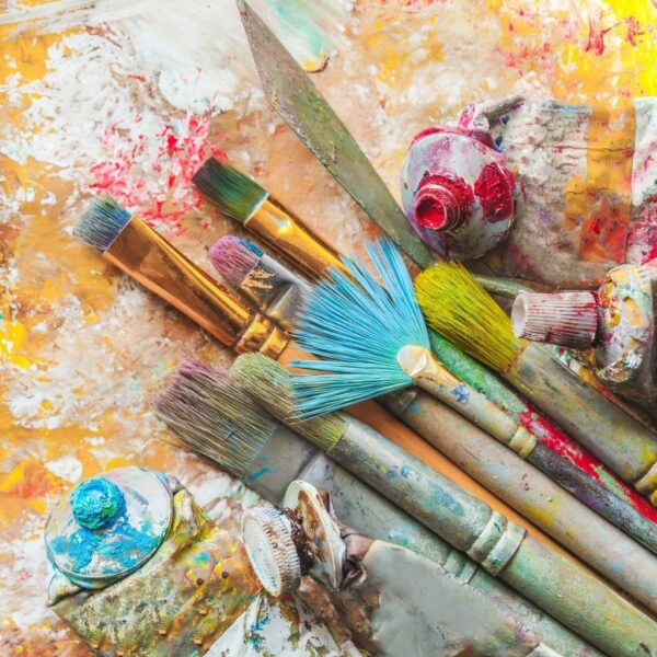 Andrew Haag Mixed media art